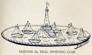 Huevos al Real Sporting Club
